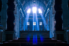 Basilique (église) di San Pietro dans Vaticano images stock