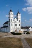 Basilique, architecture et intérieurs d'Aglona Image libre de droits
