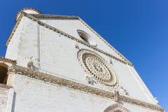 Basilique Assisi images libres de droits