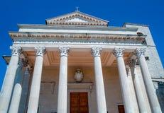 Basilique au Saint-Marin image libre de droits
