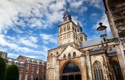 Basilique catholique à Maastricht photo libre de droits