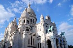 basilique coeur de法国巴黎sacr 免版税库存图片