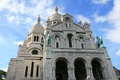 basilique coeur sacr Obrazy Royalty Free