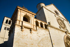 Basilique d'Assisi de San Francesco Photo stock