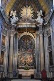 Basilique d'Estrela à Lisbonne, Portugal images libres de droits