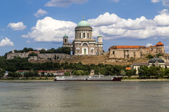 Basilique d'Esztergom Image stock