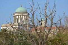 Basilique d'Esztergom (Hongrie) Image libre de droits