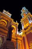 Basilique dans Salta Photos stock
