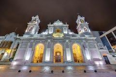 Basilique de cathédrale dans Salta, Argentine image stock