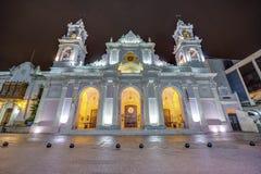 Basilique de cathédrale dans Salta, Argentine images libres de droits