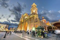 Basilique de cathédrale dans Salta, Argentine photos stock