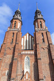 Basilique de cathédrale de la croix sainte, Opole, Pologne Photographie stock