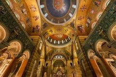 Basilique de cathédrale de Saint Louis Images libres de droits