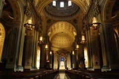 Basilique de cathédrale des saints Peter et Paul Photographie stock