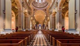 Basilique de cathédrale des saints Peter et Paul Photographie stock libre de droits