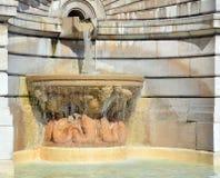 Basilique de fontaine sacrée de coeur Image libre de droits