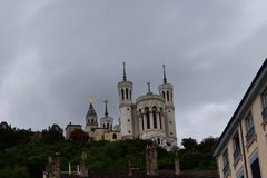 Basilique de Fourvière Lyon 5 Photographie stock libre de droits