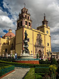 Basilique De Guanajuato, Mexique Photos stock