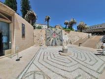 Basilique de l'annonce à Nazareth Photos stock