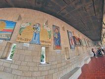 Basilique de l'annonce à Nazareth Image libre de droits