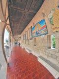 Basilique de l'annonce à Nazareth Images stock
