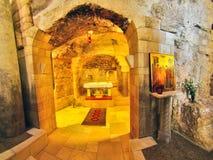 Basilique de l'annonce à Nazareth Image stock