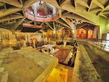 Basilique de l'annonce à Nazareth Photographie stock