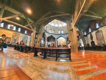 Basilique de l'annonce à Nazareth Images libres de droits