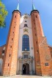 Basilique de la trinité sainte à Danzig Oliwa Photographie stock
