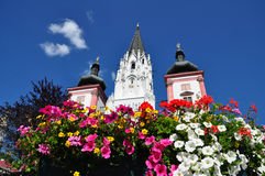 Basilique de Mariazell photo stock