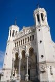 Basilique de Notre Dame de Fourviere, Lyon, France Photographie stock libre de droits
