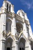 Basilique de Notre-Dame de Nice photographie stock