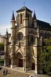 Basilique de Notre Dame, Genève Images stock