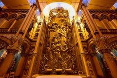 Basilique de Notre-Dame - Montréal, Canada photographie stock libre de droits