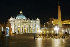 Basilique de rue Peter, Roma Photos libres de droits