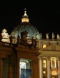 Basilique de rue Peter, Roma Photo libre de droits