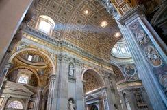 Basilique de rue Peters à Rome Photographie stock libre de droits
