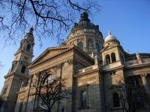 Basilique de rue Stephens, Budapest Images libres de droits