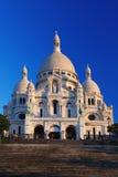 Basilique de Sacre-Coeur à Paris Images libres de droits