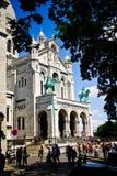 Basilique de Sacre Coeur Images stock