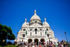 Basilique de Sacre Coeur Image stock