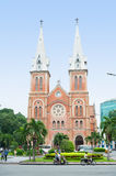 Basilique de Saigon Notre Dame Photo stock