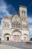 Basilique de Saint Madeleine en Vezelay Imagen de archivo libre de regalías