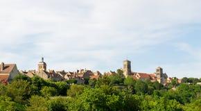 Basilique de Saint Madeleine en Vezelay Foto de archivo