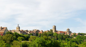 Basilique de Saint Madeleine in Vezelay Stock Photo