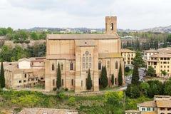 Basilique de San Domenico, Sienne, Toscane, Italie Photos libres de droits