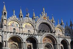 Basilique de San Marco à Venise, Italie image stock