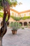 Basilique de San Nicola - Tolentino - l'Italie Images stock