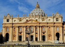 Basilique de San Pedro Photographie stock libre de droits