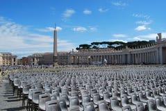 Basilique de San Pietro dans la ville de Vatican à Rome Photo stock